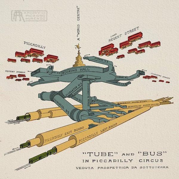 London's Hidden Tunnels Revealed In Amazing Cutaways   Londonist