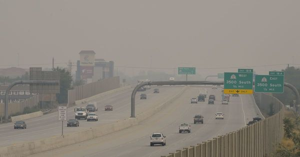 Salt Lake has the worst air in the world as wildfire smoke moves in
