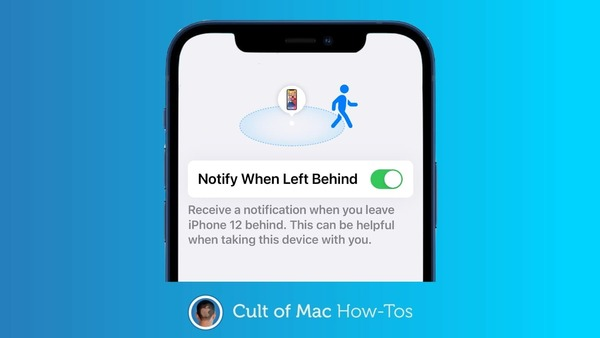 How to get a warning if you forget your Mac, iPad, etc.