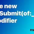 SwiftUI's New OnSubmit Modifier