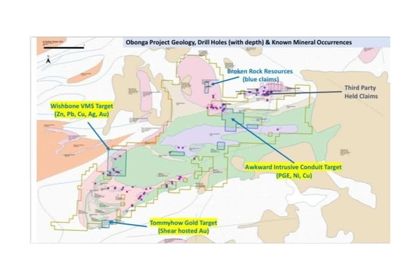 Panther Metals PLC (PALM.L) Major Acquisition on the Obonga Greenstone Belt