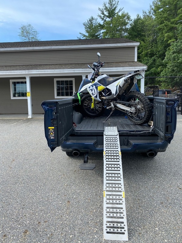 Husqvarna 701 Enduro LR Loaded up and coming home