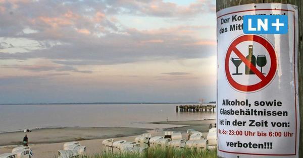 Alkoholverbot am Scharbeutzer Strand: Heiße Debatte auf Facebook