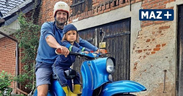 Steffen Klemm aus Grünefeld bringt Simson Schwalbe zurück auf die Straße