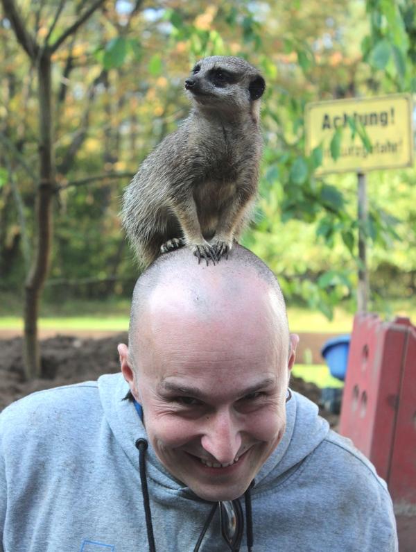 Einigen Bewohnern des Filmtierparks können die Gäste in Extra-Führungen sehr nah kommen. Foto: Filmtierpark