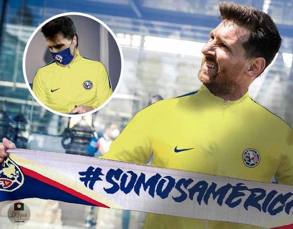 Primeras reacciones a la firma de Lionel Messi con el América