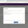 Custom page dialogs inside model-driven apps using a Ribbon Workbench smart button