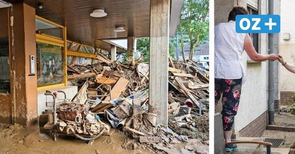 Einsatz im Hochwassergebiet: Das haben Doberaner Helfer vom Roten Kreuz erlebt