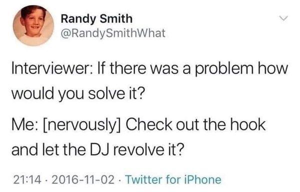 Randy is our people. 😆 Tip: Brandy Morris