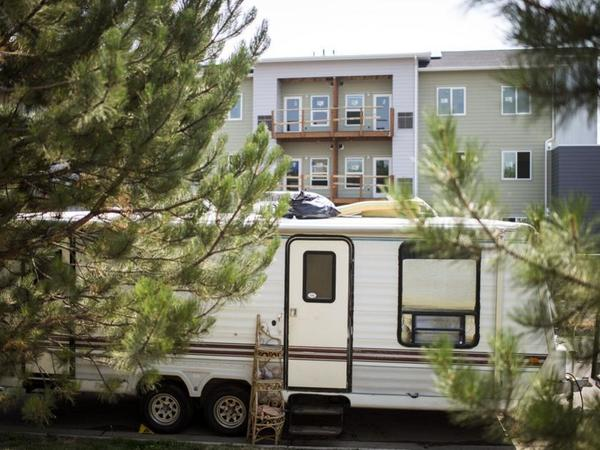 Amid tight housing market, some in Bozeman turn to RVs as permanent homes