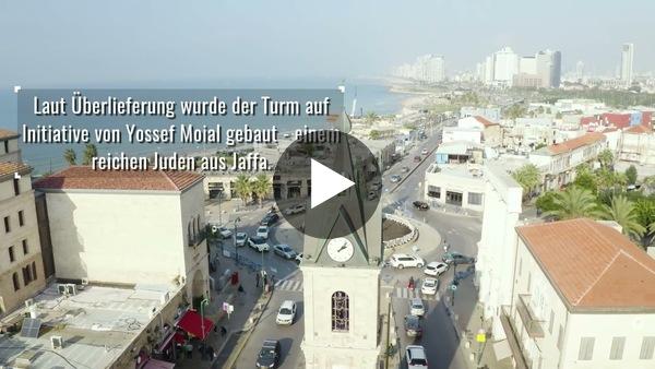 Der Uhrenturm in Jaffa