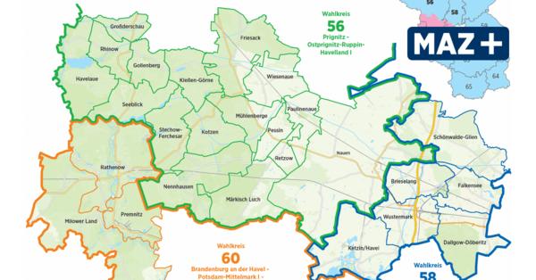 Alle Bewerber für die Bundestagsmandate im Havelland sind fix