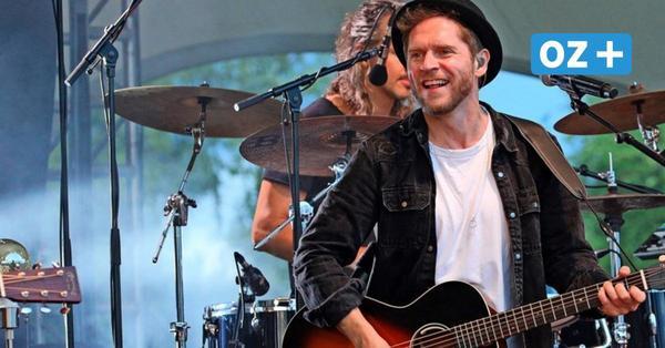 Johannes Oerding in Rostock: So emotional war sein Konzert im Iga-Park