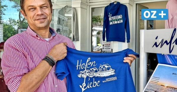 """Boltenhagen hat jetzt Fanshop mit Shirts und Hoodies: """"Es verkauft sich rasend"""""""
