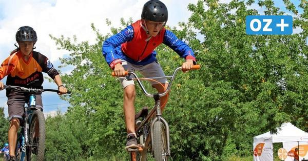 Bikepark Greifswald: Hindernisparcours für BMX und Dirtbike wächst