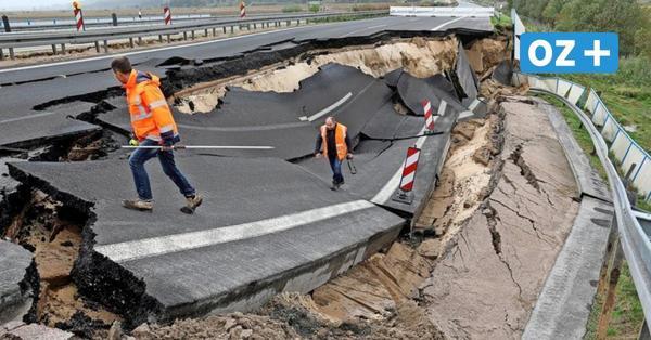 Bund hält Gutachten zu Loch auf A20 bei Tribsees zurück