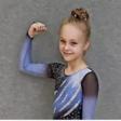 Sophie Duiunov nahm an ihrer zweiten Deutschen Meisterschaft im Rollkunstlauf teil