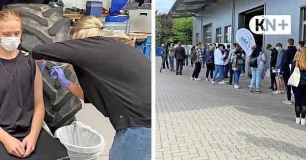 Coronaimpfung in der Schule - Auftakt am BBZ in Bad Segeberg