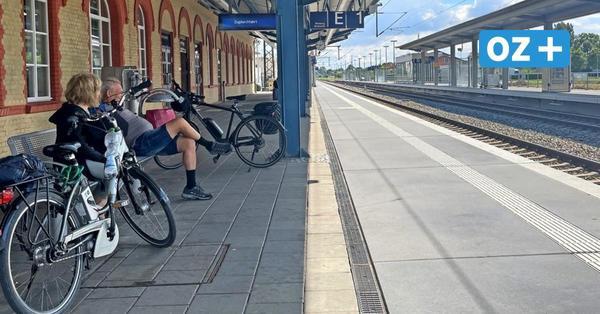 Auch Greifswalder sind vom Bahnstreik betroffen – nehmen es aber entspannt