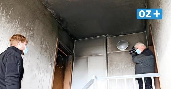 """Nachbarin zum Wohnungsbrand in Wismar: """"Am meisten tun mir die Kinder leid"""""""