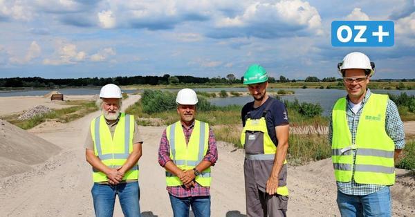 Zurow bei Wismar: Firma will Kiessee zum Angeln anbieten