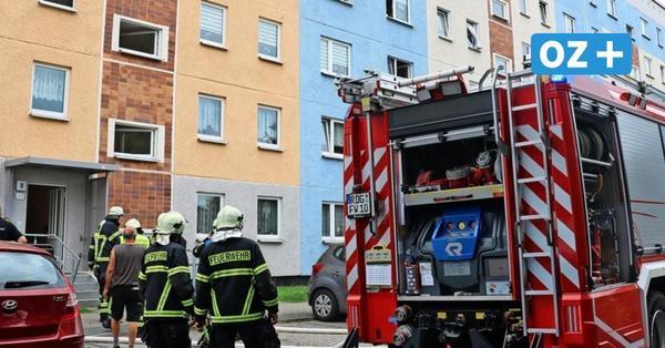 Darum war am Dienstag die Feuerwehr in Ribnitz im Einsatz