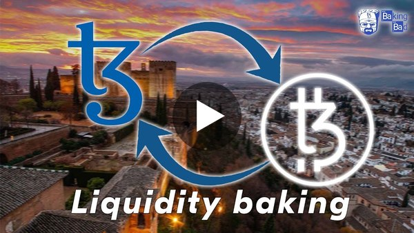 Tezos liquidity baking: how to start a new feature of Granada Tezos update