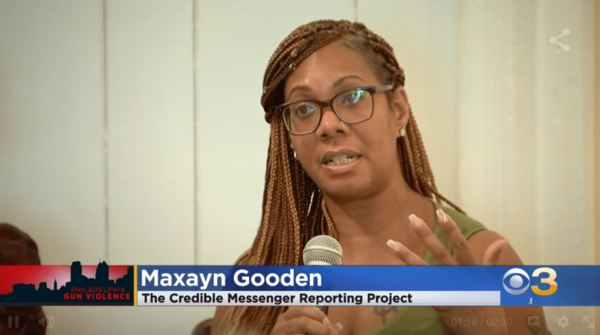 """Credible Messenger Maxayn Gooden discusses her experience at a recent screening of her team's production: """"The Lasting Impact."""" Gooden also organized the event which included an intimate community conversation."""