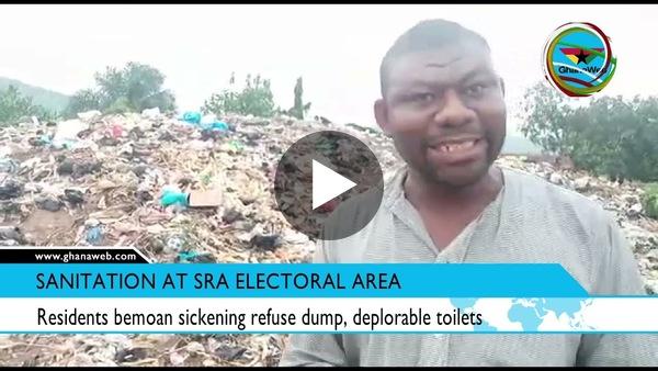 Residents bemoan sickening refuse dump, deplorable toilets