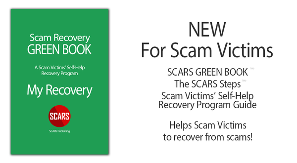 SCARS Publishes New GREEN BOOK Self-Help Recovery Guide
