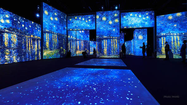 Van Gogh Alive - Kensington Gardens Jun 4 – Sep 26