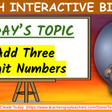 BUNDLE #1 Add and Subtract- MATH Interactive Bingo! by Teach and Create Today