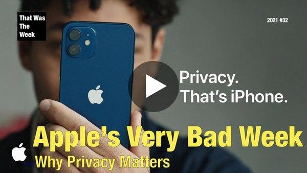 Apple's Very Bad Week