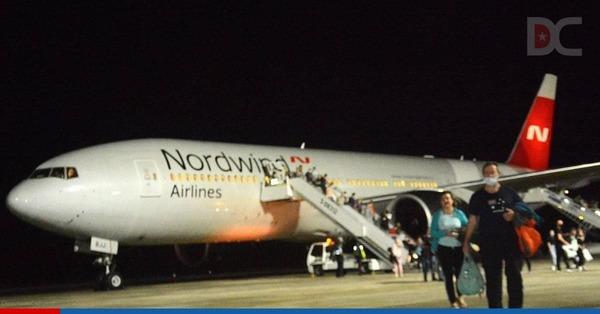 Anuncian cambios en los vuelos desde Rusia a Cayo Coco para la próxima semana