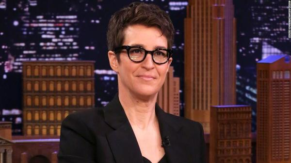 Rachel Maddow is thinking about leaving MSNBC and starting her own media venture - CNN