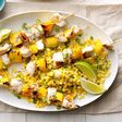 Grilled Chicken and Mango Skewers Recipe: How to Make It