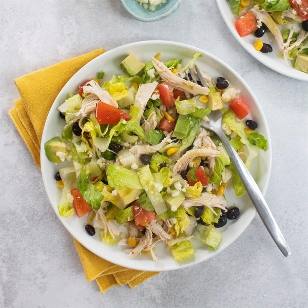 South-of-the-Border Chicken Salad with Tequila Lime Dressing Recipe: How to Make It