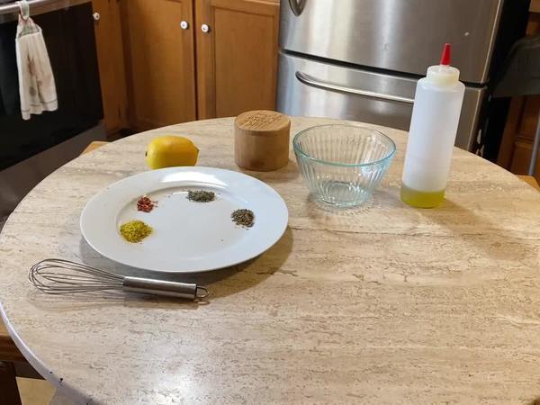 Watch as I make my almost famous Fresno salad dressing | Mark-John Clifford | NewsBreak