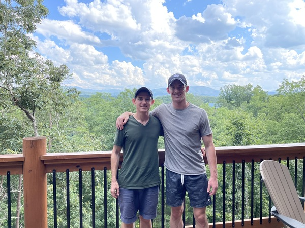 First time in the Smoky Mountains. Happy birthday Noah!