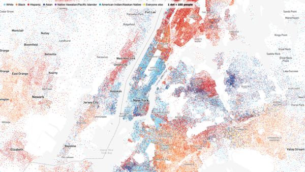 Map: Race and ethnicity across the US