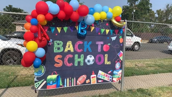 Fresno teen hosts 'back to school' giveaway, accepting donations