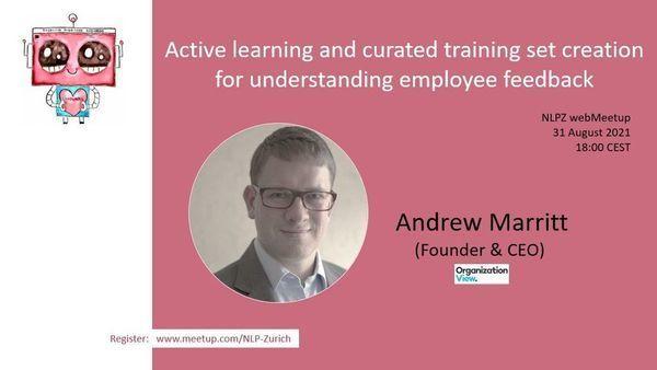 Active learning and understanding employee feedback