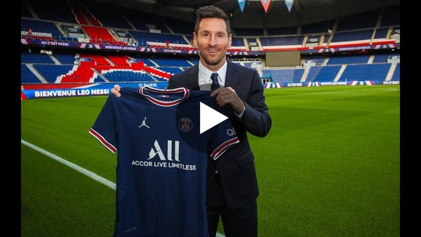 Friday Debate: Is Lionel Messi's transfer to PSG the biggest in history?