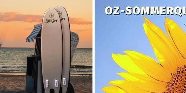 OZ+ Sommerquiz 2021: Jetzt Fragen beantworten und letzte Woche tolle Preise gewinnen