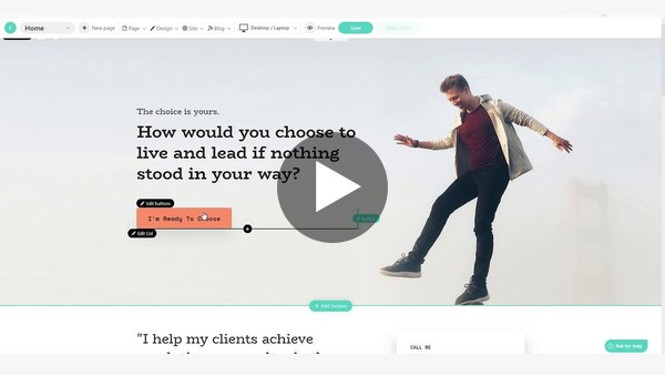 Create a beautiful Online School and sell courses, in minutes