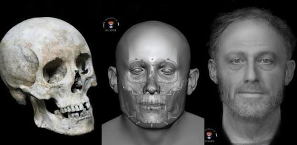 Archaeologists Reconstruct Face of Medieval Man Who Died 700 Years Ago | Live Science