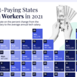 The U.S. States with the Top Tech Salaries in 2021