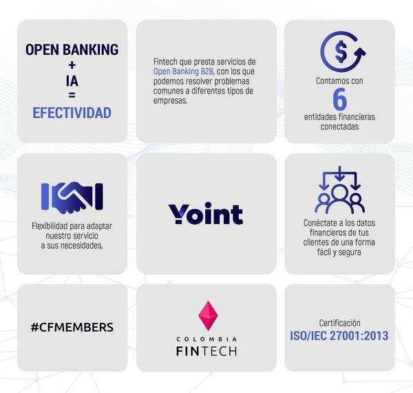 Nuestro #FollowFriday de hoy es Yoint🔥 Empresa que presta servicios de #OpenBanking #B2B 💃🏻