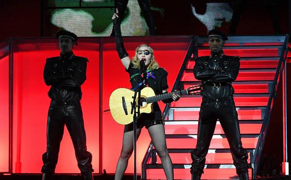Madonna en el cierre del World Pride de 2019, en Nueva York.