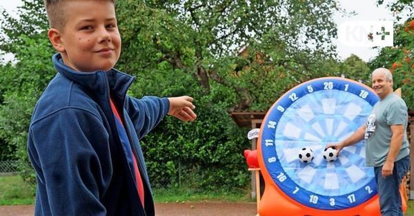 Kindervogelschießen in Groß Rönnau kam zu den Kindern an die Haustür